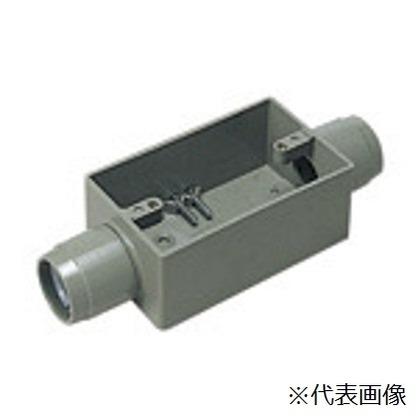 パナソニック 露出スイッチボックス1コ用(2方出) DM38322 住宅 配管 電設資材