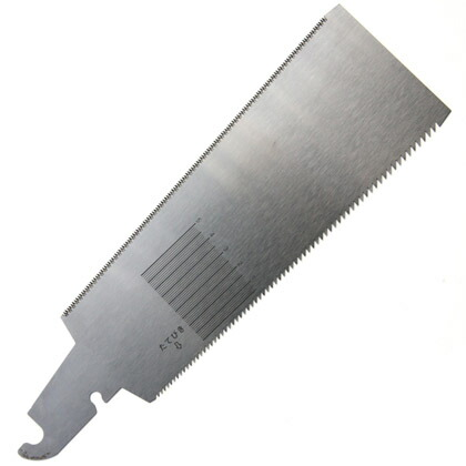 E-SPF(エスピフ) 目盛のこ両刃【替刃】 刃渡り:210mm