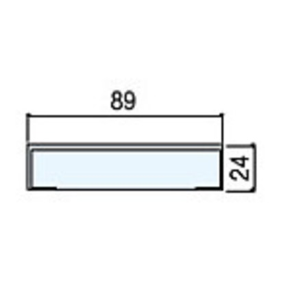 住友林業クレスト 無目枠一体枠タイプ ベリッシュホワイト柄 幅W89×長さL2100 BA41WB08921 化粧造作材 2本