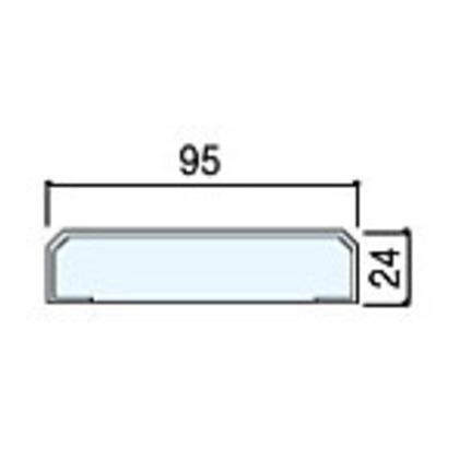 住友林業クレスト 無目枠一体枠タイプ ベリッシュホワイト柄 幅W95×長さL2100 BA42WB09521 化粧造作材 2本
