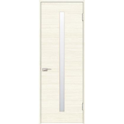 住友林業クレスト 内装ドア スリット1枚ガラス横目 ベリッシュホワイト柄 枠外W780mm×枠外H2032mm DBACK03SWC57JS4AL 内装建具 1セット