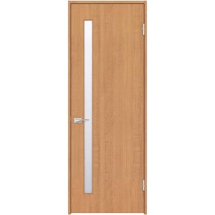 住友林業クレスト 内装ドア サイドスリット1枚ガラス縦目 ベリッシュチェリー柄 枠外W755mm×枠外H2300mm DBACK04SCA48JS4AR 内装建具 1セット
