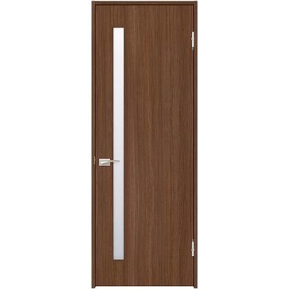 住友林業クレスト 内装ドア サイドスリット1枚ガラス縦目 ベリッシュウォルナット柄 枠外W735mm×枠外H2032mm DBACK04SUD37JS4AR 内装建具 1セット