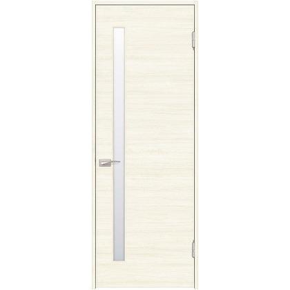 住友林業クレスト 内装ドア サイドスリット1枚ガラス横目 ベリッシュホワイト柄 枠外W872mm×枠外H2032mm DBACK05SWA77JS4AL 内装建具 1セット