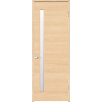 住友林業クレスト 内装ドア サイドスリット1枚ガラス横目 ベリッシュメイプル柄 枠外W755mm×枠外H2032mm DBACK05SMD47JS4AL 内装建具 1セット