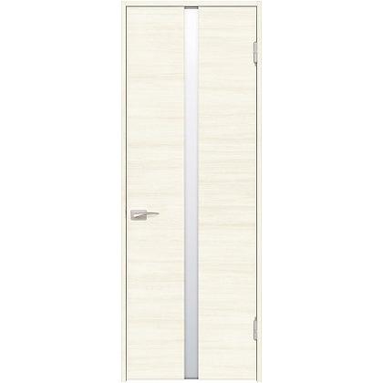 住友林業クレスト 内装ドア センタースリットガラス横目 ベリッシュホワイト柄 枠外W780mm×枠外H2032mm DBACK09SW857JS4AL 内装建具 1セット