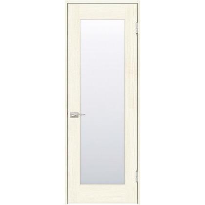 住友林業クレスト 内装ドア 1枚ガラス ベリッシュホワイト柄 枠外W872mm×枠外H2032mm DBACK25SWA77JS4AR 内装建具 1セット