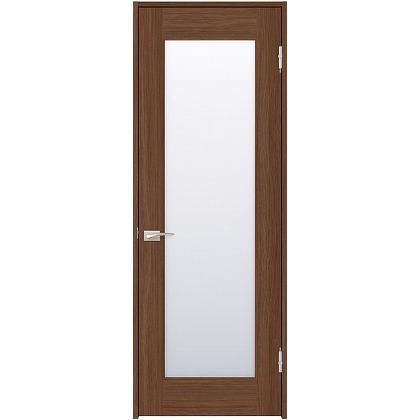 住友林業クレスト 内装ドア 1枚ガラス ベリッシュウォルナット柄 枠外W850mm×枠外H2032mm DBACK25SUE67JS4AR 内装建具 1セット