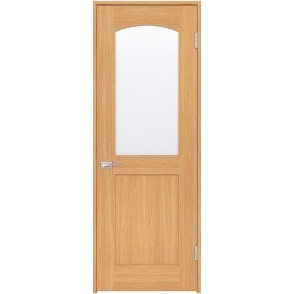 住友林業クレスト 内装ドア アールガラス ベリッシュオーク柄 枠外W755mm×枠外H2032mm DBACK27SA747JS4AL 内装建具 1セット