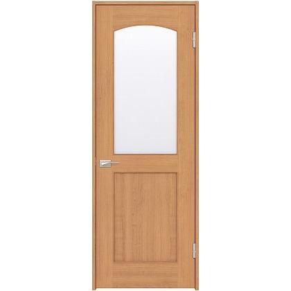 住友林業クレスト 内装ドア アールガラス ベリッシュチェリー柄 枠外W755mm×枠外H2032mm DBACK27SC747JS4AL 内装建具 1セット