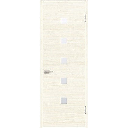 住友林業クレスト 内装ドア 角窓付パネル ベリッシュホワイト柄 枠外W755mm×枠外H2300mm DBACK13SWA48JS4AL 内装建具 1セット
