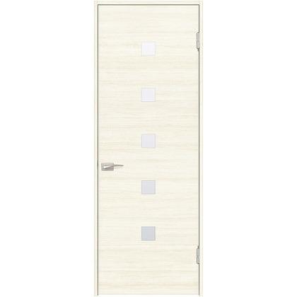 住友林業クレスト 内装ドア 角窓付パネル ベリッシュホワイト柄 枠外W755mm×枠外H2300mm DBACK13SWB48JS4AL 内装建具 1セット