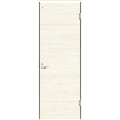 住友林業クレスト 内装ドア トイレ用フラットパネル横目 ベリッシュホワイト柄 枠外W780mm×枠外H2300mm DBACK01PWA58JS4FR 内装建具 1セット