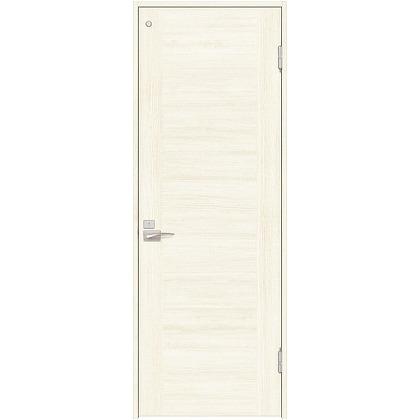住友林業クレスト 内装ドア トイレ用フラットセンター框パネル ベリッシュホワイト柄 枠外W780mm×枠外H2032mm DBACK23PW557JS4FR 内装建具 1セット
