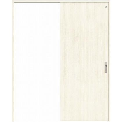 住友林業クレスト 引き戸 トイレ用 フラットパネル縦目 ベリッシュホワイト柄 枠外W1645×枠外H2300 HBATK00HPW868J1S3R 内装建具 1セット