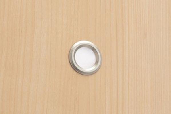 引き戸 トイレ用 フラットパネル縦目
