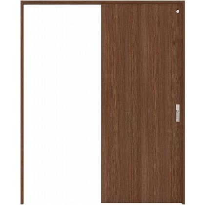 住友林業クレスト 引き戸 トイレ用 フラットパネル縦目 ベリッシュウォルナット柄 枠外W1463×枠外H2300 HBATK00HPU848J1S3L 内装建具 1セット