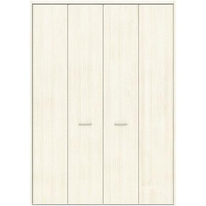 住友林業クレスト フォールディングドア ベリッシュホワイト柄 縦目 8尺タイプ FBAK00W2F18JS01 収納建具 1セット