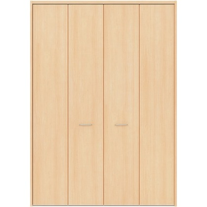 住友林業クレスト フォールディングドア ベリッシュメイプル柄 縦目 8尺タイプ FBAK00M2F18JS01 収納建具 1セット