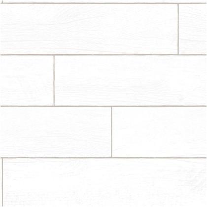 Wallprops 貼ってはがせる壁紙シール  シップラッププランクス ホワイトウォッシュド 長さ2.5m 幅52cm ShiplapPlanks_WhiteW 1本