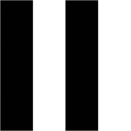 Wallprops 貼ってはがせる壁紙シール  ストライプ ブラック&ホワイト ブラック&ホワイト 長さ2.5m 幅52cm Stripe Black and Whi 1本