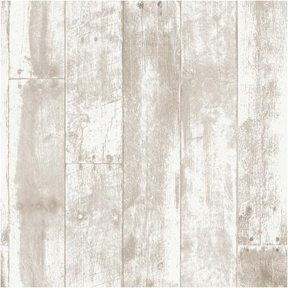 Wallprops 貼ってはがせる壁紙シール  リクレイムドウッド ブラウン 長さ5m 幅52cm Reclaimed Wood Brown 1本