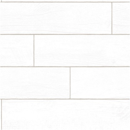 Wallprops 貼ってはがせる壁紙シール  シップラッププランクス ホワイトウォッシュド 長さ5m 幅52cm ShiplapPlanks_WhiteW 1本