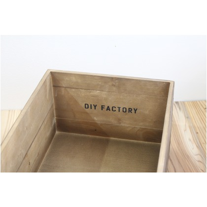DIY FACTORY KIBAKO ブラウン 370x260x168mm LLサイズ DF-02 1個