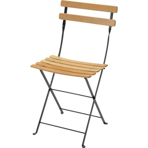 【送料無料】ビストロ ベランダチェア ダークグレー ガーデンテーブル・チェア 650201510 1脚