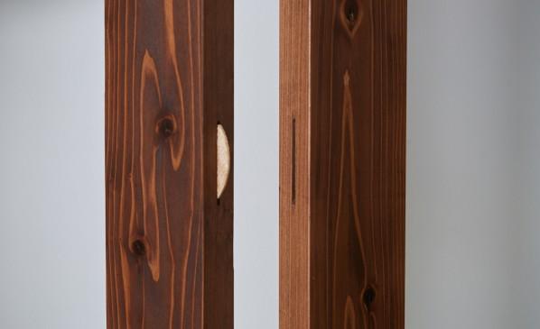 Wooden Shelf  High