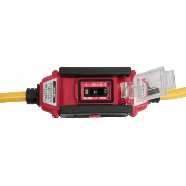 過負荷付漏電遮断器延長コード