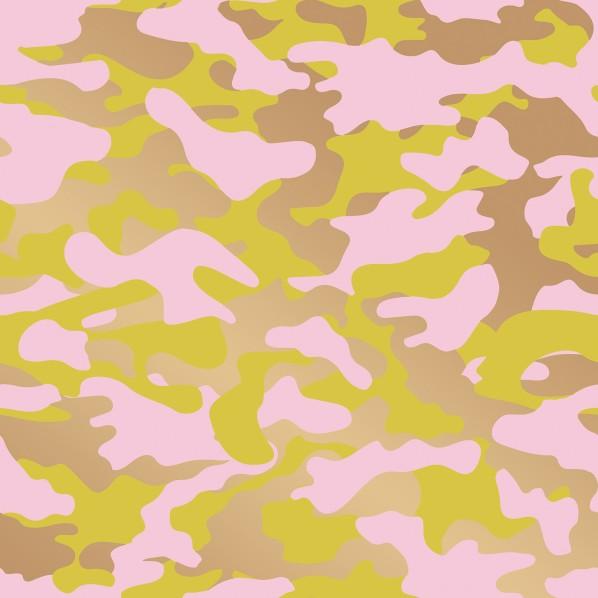 【送料無料】テンペーパー TEMPAPER 貼ってはがせる壁紙シール グロマ ピンク、レモン&ゴールド 幅:68.5cm 長さ:8.2m CR460 1本