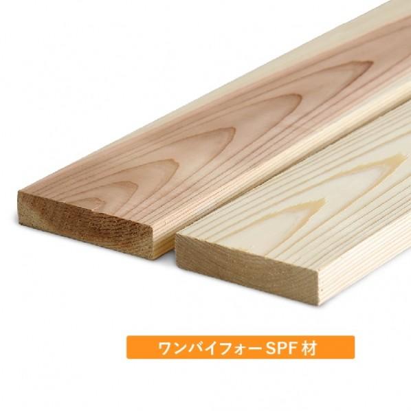 DIY FACTORY SPF材/ディメンションランバー/ワンバイ材 約19x89x1200(mm) 1個