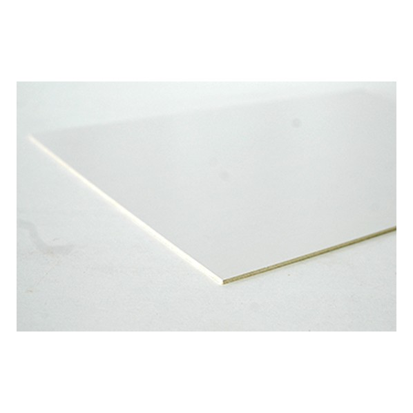 DIY FACTORY 合板/プリント合板 白 約2.5x300x450(mm) 1個