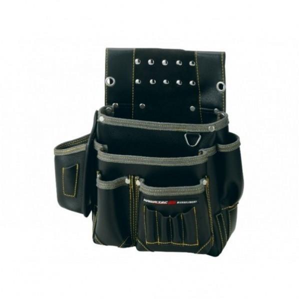 【送料無料】NEXUS 仮枠釘袋 墨ツボ差付 小 BK ブラック H330×W330×D130mm NX-801B 1個