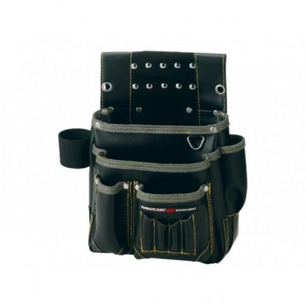 【送料無料】NEXUS 仮枠釘袋 工具差付 小 BK ブラック H330×W320×D130mm NX-803B 1個