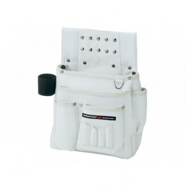 【送料無料】NEXUS 仮枠釘袋 工具差付 大 WH ホワイト H340×W320×D130mm NX-804W 1個