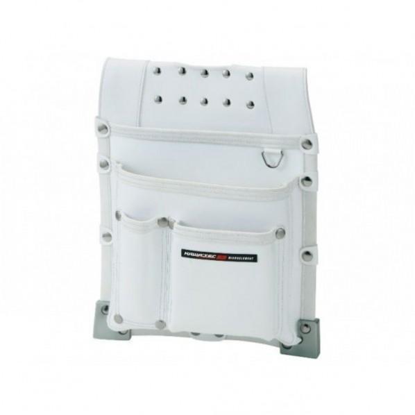 【送料無料】NEXUS 仮枠釘袋 職人タイプ 大 WH ホワイト H365×W290×D75mm NX-813W 1個