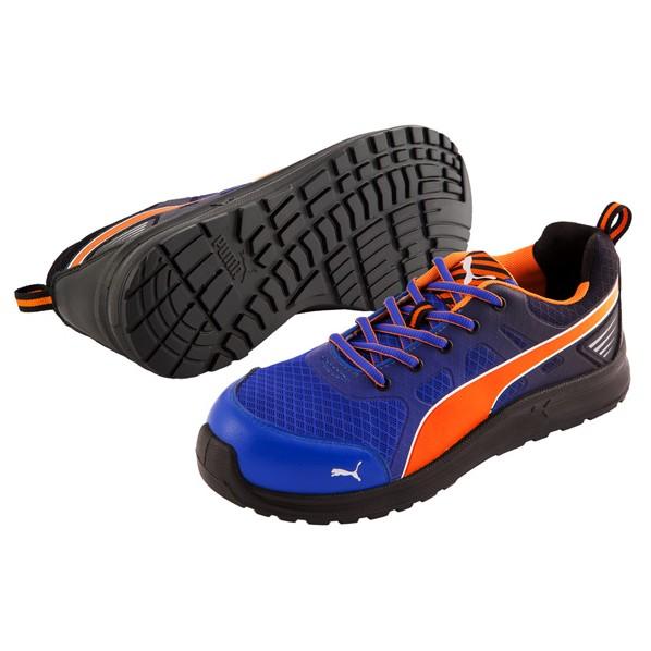 【送料無料】PUMA SAFETY PUMA SAFETY マラソン ブルー 25.0? 64.335.0 1足