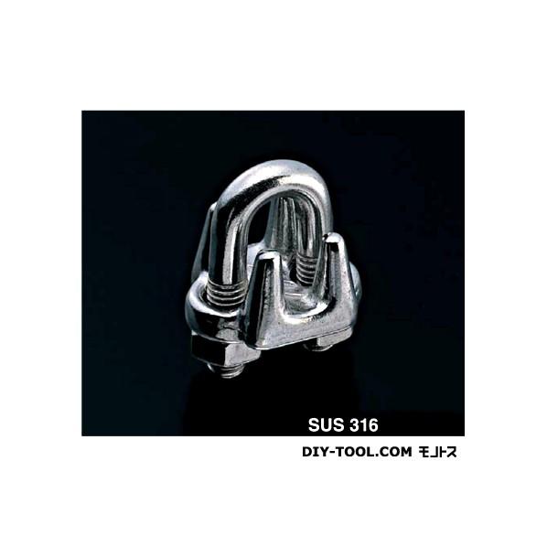 【送料無料】AIOULE ワイヤクリップ(SUS316) 適合ワイヤ径:14.0mm WC-14(SUS316) 1個