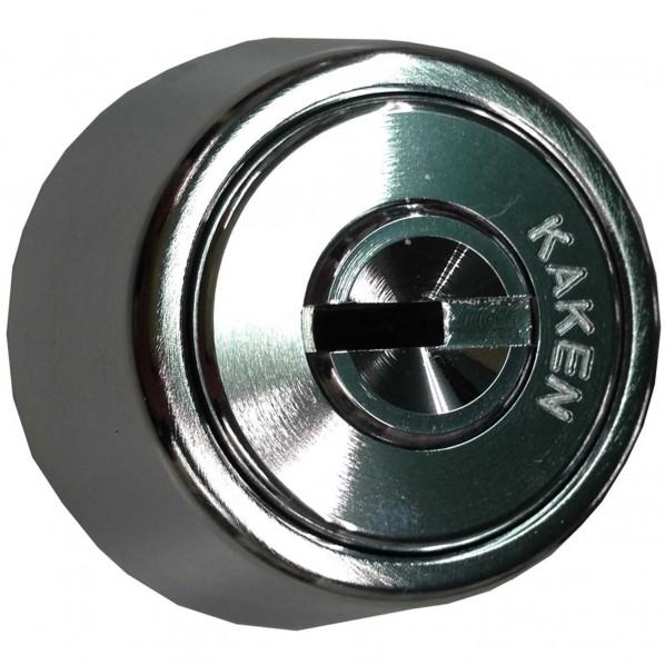 【送料無料】家研販売 ベルウエーブキーKX3N-TE(シルバー) シルバー シリンダー錠 KX3N-TE 1本