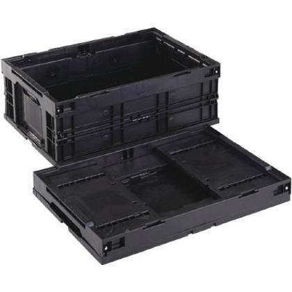 導電性折りたたみコンテナーCB-S55AS黒