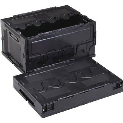 【送料無料】リス 導電性折りたたみコンテナーCF−S41A黒 CFE-S41A-BK