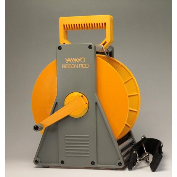 【送料無料】ヤマヨ測定機 120mm幅用リボンロッドケ−ス(50m用) 本体寸法:333x220x173mm 120L 1個