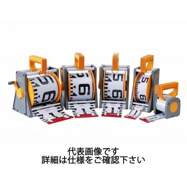 【送料無料】ヤマヨ測定機 リボンロッド両サイド100E1 50m ケース入 ケース:333x220x153mm R10A50L 1個