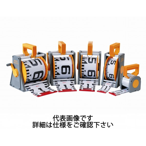 【送料無料】ヤマヨ測定機 リボンロッド両サイド120E1 20m ケース入 ケース:284x174x173mm R12A20M 1個