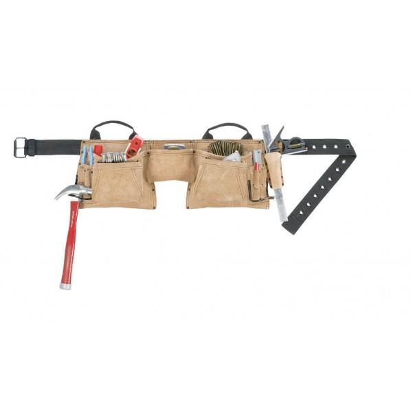 【送料無料】クニーズ 腰袋(両側・ベルト付) AP-527X