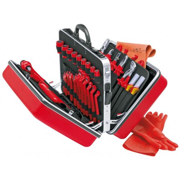【送料無料】クニペックス KNIPEX絶縁工具セット48点セット 989914
