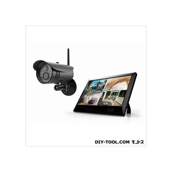 【送料無料】マザーツール 高解像度ワイヤレスセキュリティカメラシステム/カメラセット W255xH173x D38mm MT-WCM300 1セット