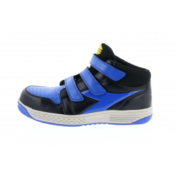 【送料無料】ディアドラ ディアドラ 安全作業靴 スターリング  ブラック/ブルー 24.0cm 285 x 225 x 110 mm 1個